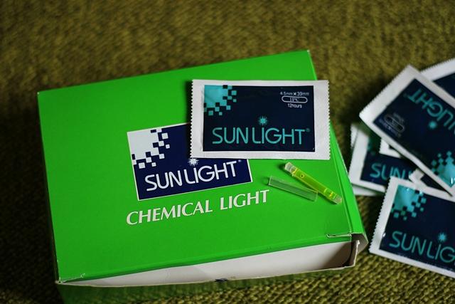 Ljusstavar Sunlight